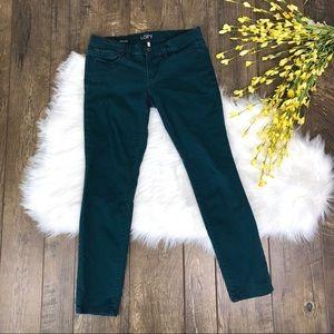 LOFT Modern Skinny Pants Teal Size 26 / 2P